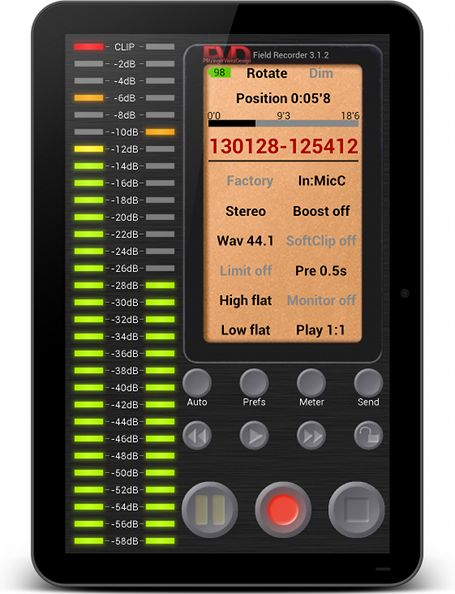 Android App Field Recorder